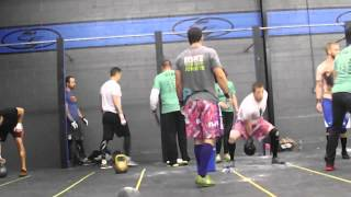 War of the Wods at Crossfit Greensboro 2013- Wod 4 (1 of 2)