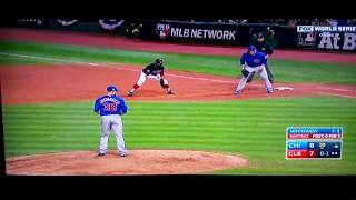 Chicago Cubs 2016 World Series Last Out and Celebration