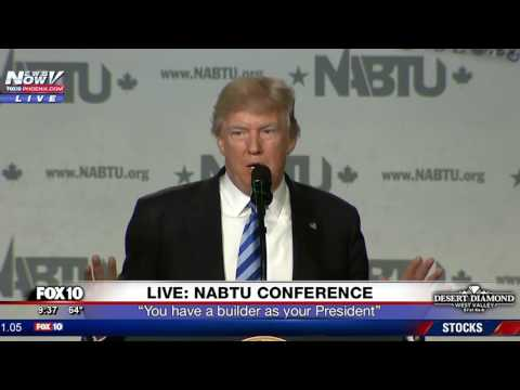 FULL SPEECH: President Trump Addresses Building Trades Unions (FNN)