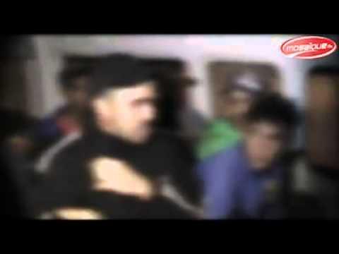Patrouilles de police à Sidi Hassine