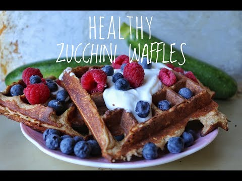 How To Make Zucchini Waffles