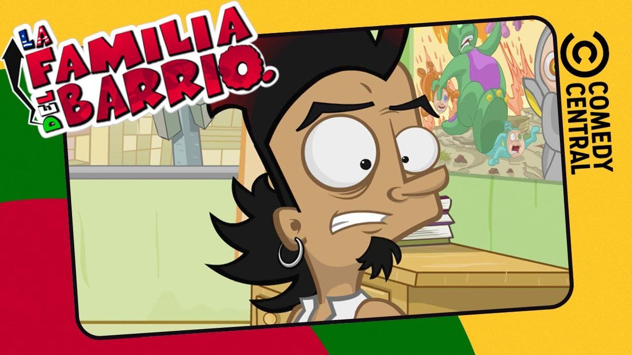 Relájate Un Chingo, Peluzín   La Familia del Barrio   Comedy Central LA