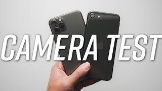 iphone se 2020 vs iphone 11 pro camera comparison
