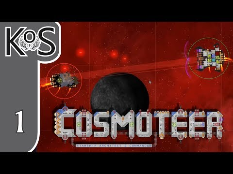 Cosmoteer Ep 1: CONQUERING THE STARS - Early Access - Let's Play, Gameplay