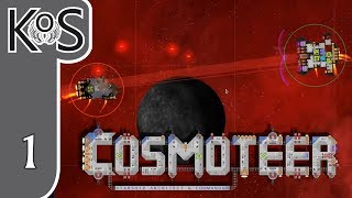 Cosmoteer Ep 1: CONQUERING THE STARS - Early Access - Let