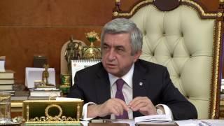 Նախագահը հանձնարարել է արտգործնախարարին հաջորդ դեսպանահավաքն անցկացնել Հայաստանում