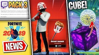 Fortnite News | KFC Skin, Fake Twitch Pack #3 Email, Disco Ball, Day 13, Fortnite x Ninja & More!