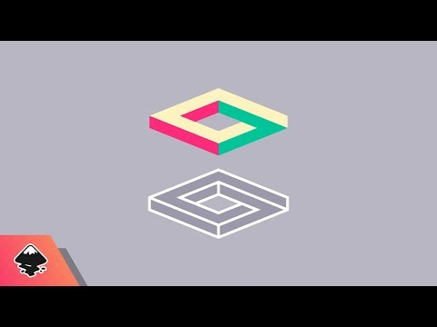 Inkscape Beginner Tutorial: Impossible Square Icon