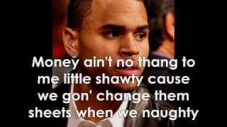 Chris Brown - Say Ahh W/Lyrics