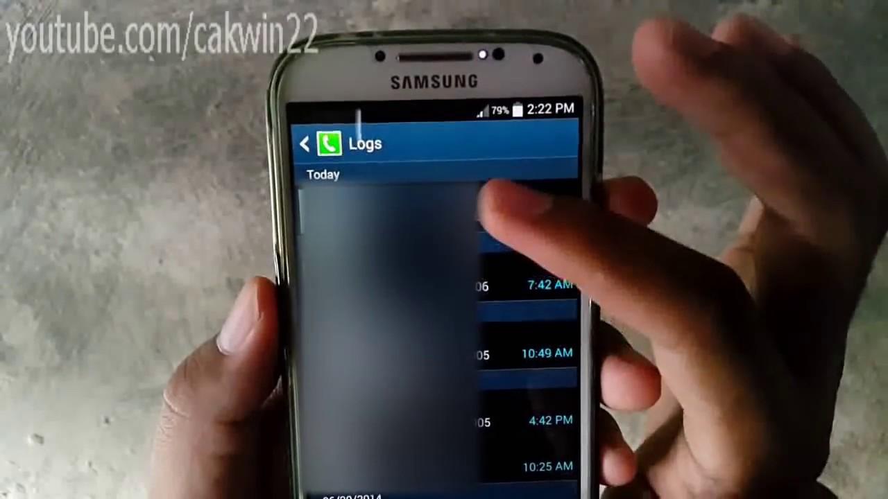 Android Cara Blokir Nomor Hp Di Samsung Galaxy S4 Tanpa Aplikasi