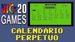 Calendario perpetuo - Commodore VIC-20