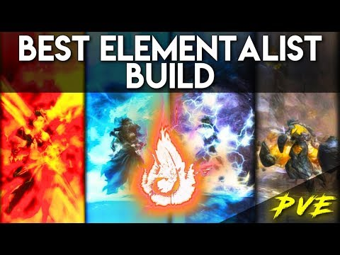 Elementalist Best Solo Build PvE in 2019 ► Beginner's Friendly | Guild Wars 2 thumbnail