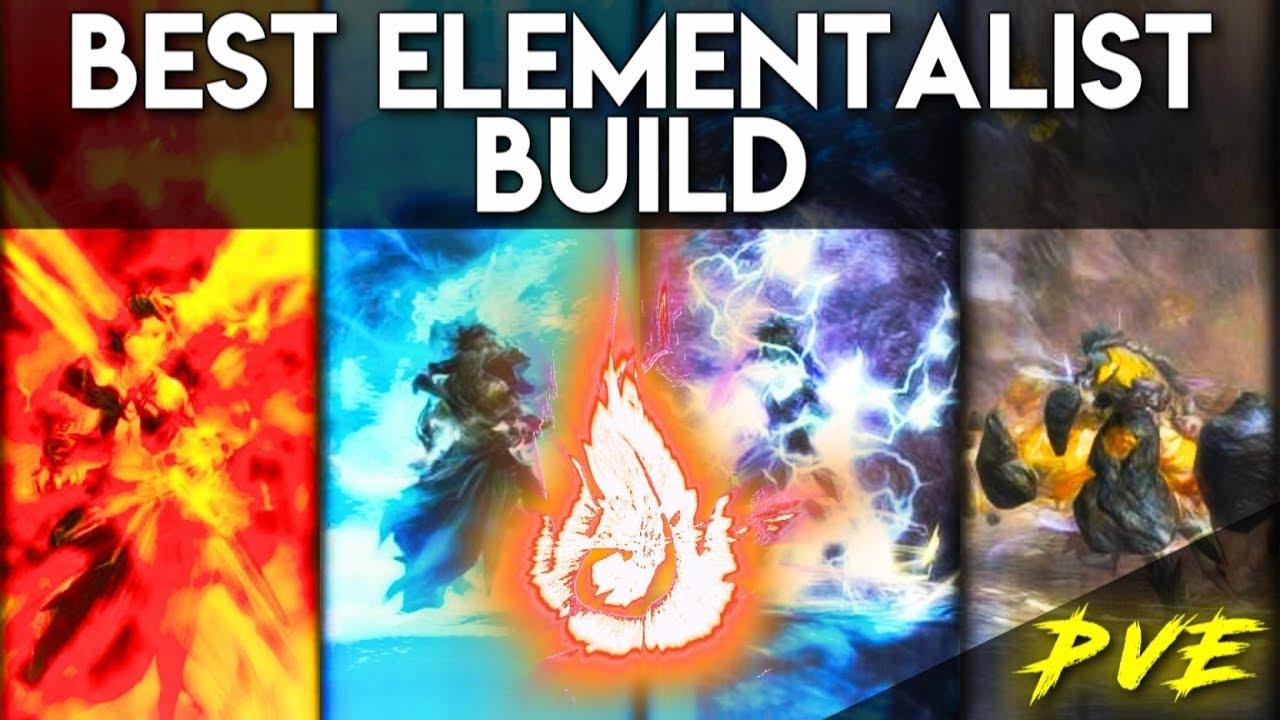 Elementalist Best Solo Build PvE in 2019 ► Beginner's Friendly | Guild Wars  2