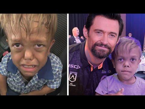 Hugh Jackman supports bullied Australian boy Quaden Bayles