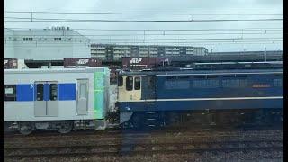 都営6500系甲種輸送 京都貨物抑止