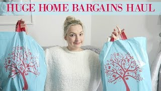 HOME BARGAINS HAUL MARCH 2018 | MOTHERS DAY, HOME DECOR, EASTER, BEAUTY & MORE | MRS SMITH & CO.