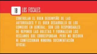 Curso de Capacitación para Autoridades de Mesas Electorales 1/3