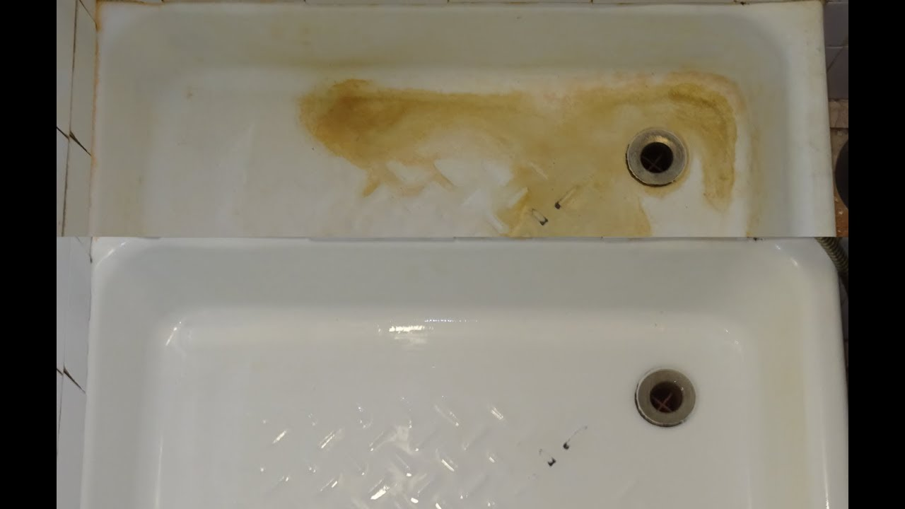 How to effortlessly remove limescale (clean your bathtub)