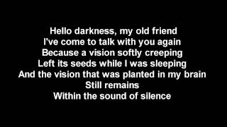 Скачать HELLO DARKNESS MY OLD FRIEND LYRICS VERSION 2017