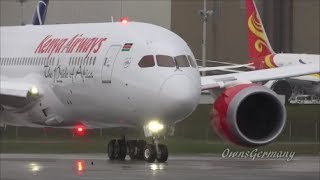 1st Kenya Airways 787 Dreamliner Departs KPAE - Test Flight