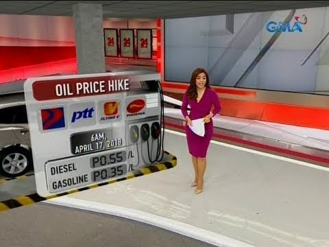 24 Oras: Oil price hike (6AM, April 17, 2018)