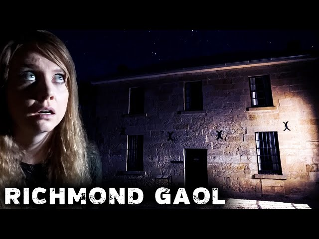 GHOSTS of the Richmond Gaol | NIGHT in Oldest Haunted Jail in Australia