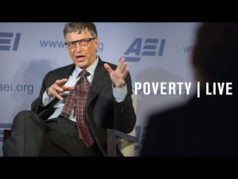 Bill Gates: A conversation on poverty and prosperity | LIVE STREAM