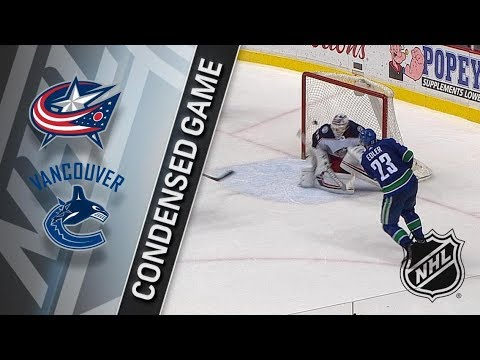 Columbus Blue Jackets vs Vancouver Canucks – Mar. 31, 2018 | Game Highlights | NHL 2017/18. Обзор
