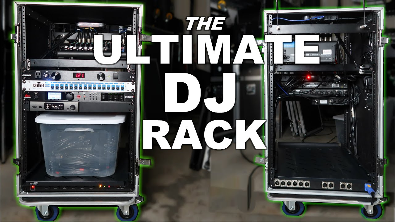 ultimate dj rack build part