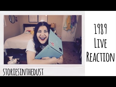 1989 LIVE REACTION | storiesinthedust