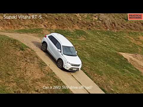 A 2WD SUV drives offroad: Suzuki Vitara RT-S - 4x4.practicalmotoring.com.au