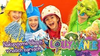 Lollymánie S03E01 - Nakupujeme blbosti v barvách Lollipopz 😂