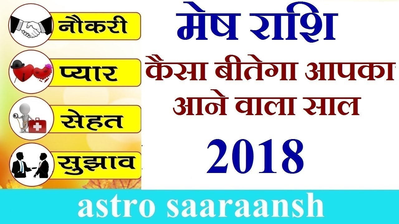 म ष र श र श फल 2018 Aries Horoscope 2018 In Hindi Mesh