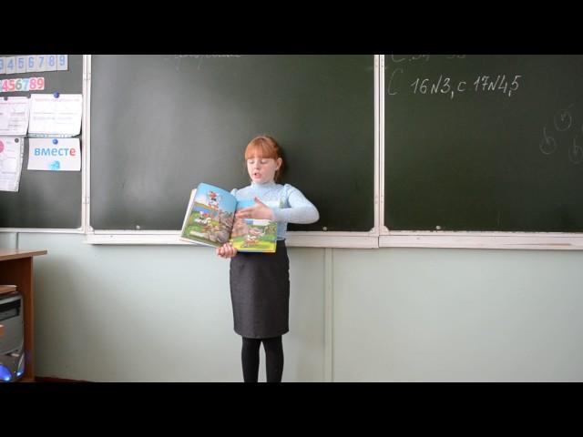 Изображение предпросмотра прочтения – АлёнаНольфина читает произведение «Что ни страница, — то слон, то львица» В.В.Маяковского