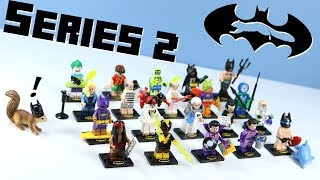 LEGO The Batman Movie Minifigures Series 2  Collection Opening