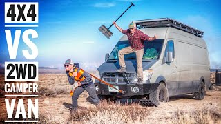 4x4 Camper Van vs 2WD Camper Van for Off Road Van Life | Adventure in a Backpack