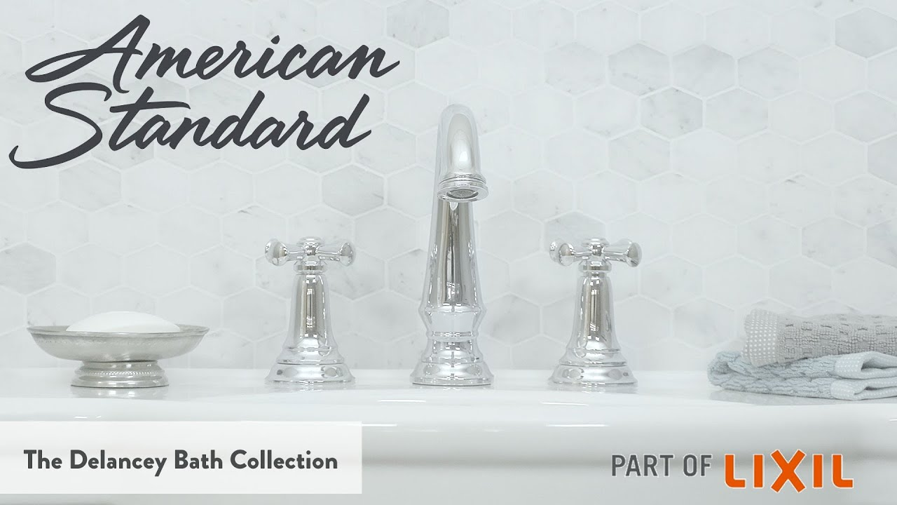 Polished Chrome American Standard T052901.002 Delancey Roman Tub Faucet with Personal Shower
