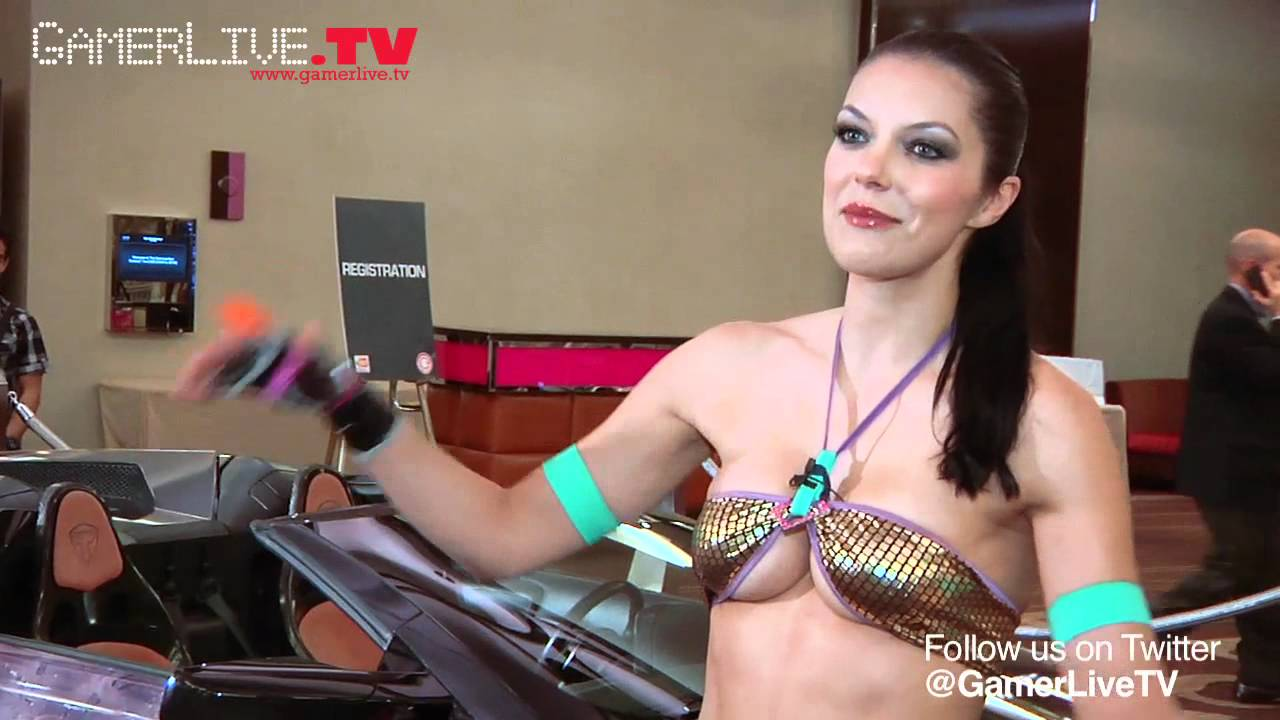 Bikini Clad Adrianne Curry Discusses Her Love Of Cosplay