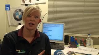 Het werk van  Jolanda Vonder; hoofdgreenkeeper   golfclub Hooge Graven