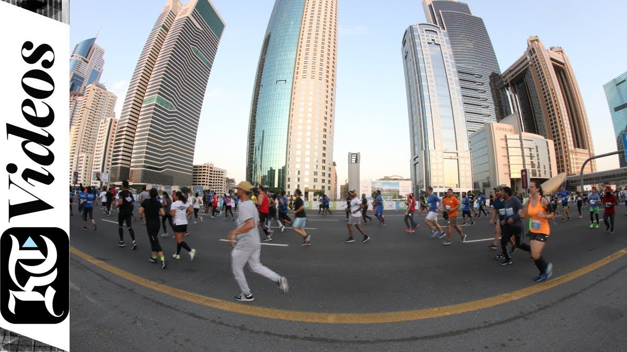 How Dubai's Sheikh Zayed Road turned into a running track
