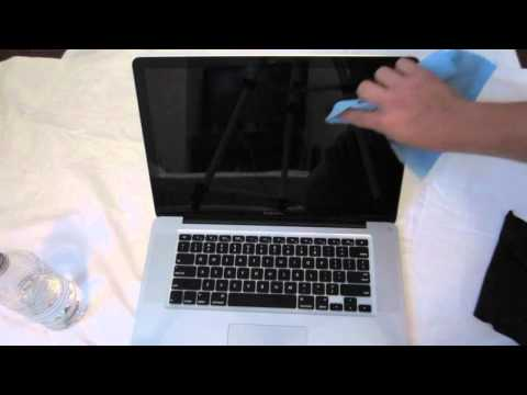 How To Clean iPod, LCD Screen, TV, iPad, iPhone, Computer or Tablet Screen - No Chemicals