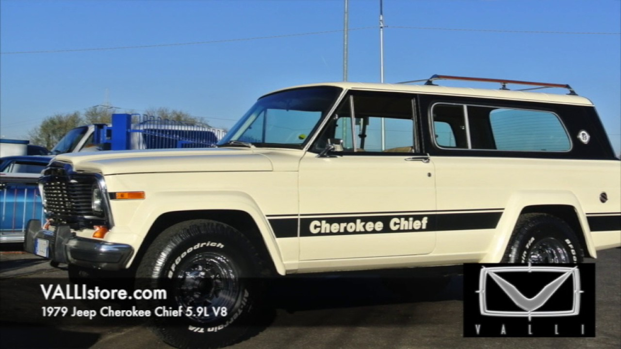1979 jeep cherokee chief intramontabile! - youtube