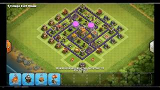 100% WORKING- CLASH OF CLANS TH7 BEST EVER FARMING BASE ANTI EVERYTHING 2017 UPDATE