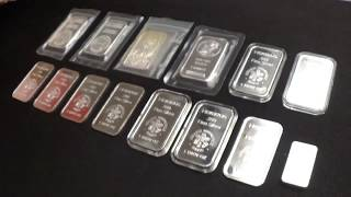 FULL STACK  Video Silver  Bars  Unboxing