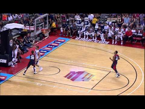 Paul George Gruesome Leg Injury in Team USA Basketball Showcase (HD)