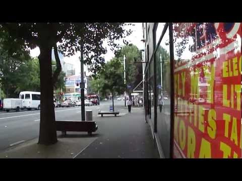 Auckland walkabout: Airport hotel to downtown waterfront (unplugged) 2012-02-16