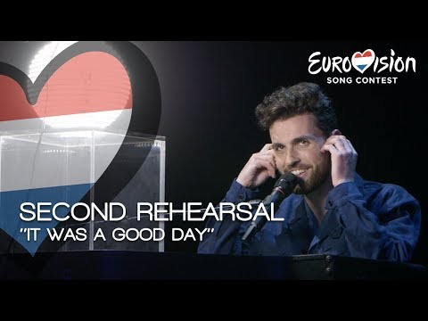 It was a good day at the second rehearsal for Duncan Laurence | TeamDuncan