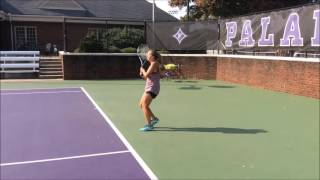 Claire Coleman College Recruiting Video