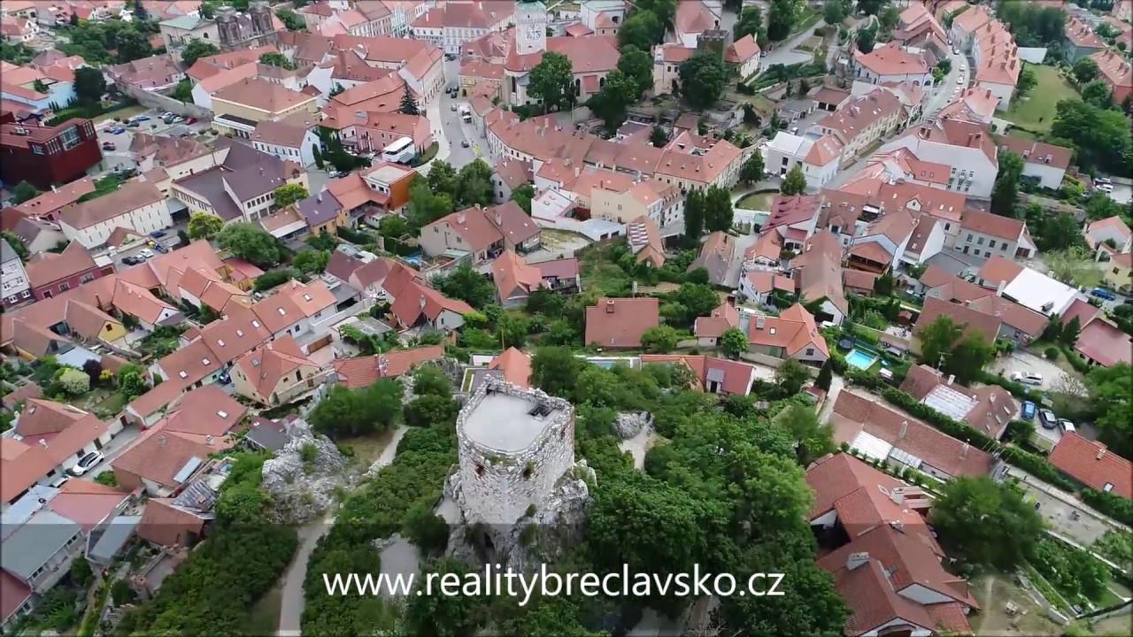 Mikulov z dronu 2018 - Reality Břeclavsko