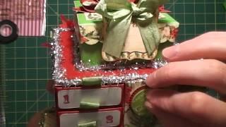 Diemond Dies Dt Project - Matchbox Advent Calendar